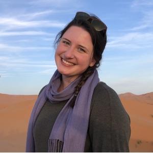 Headshot of Kate Amrein