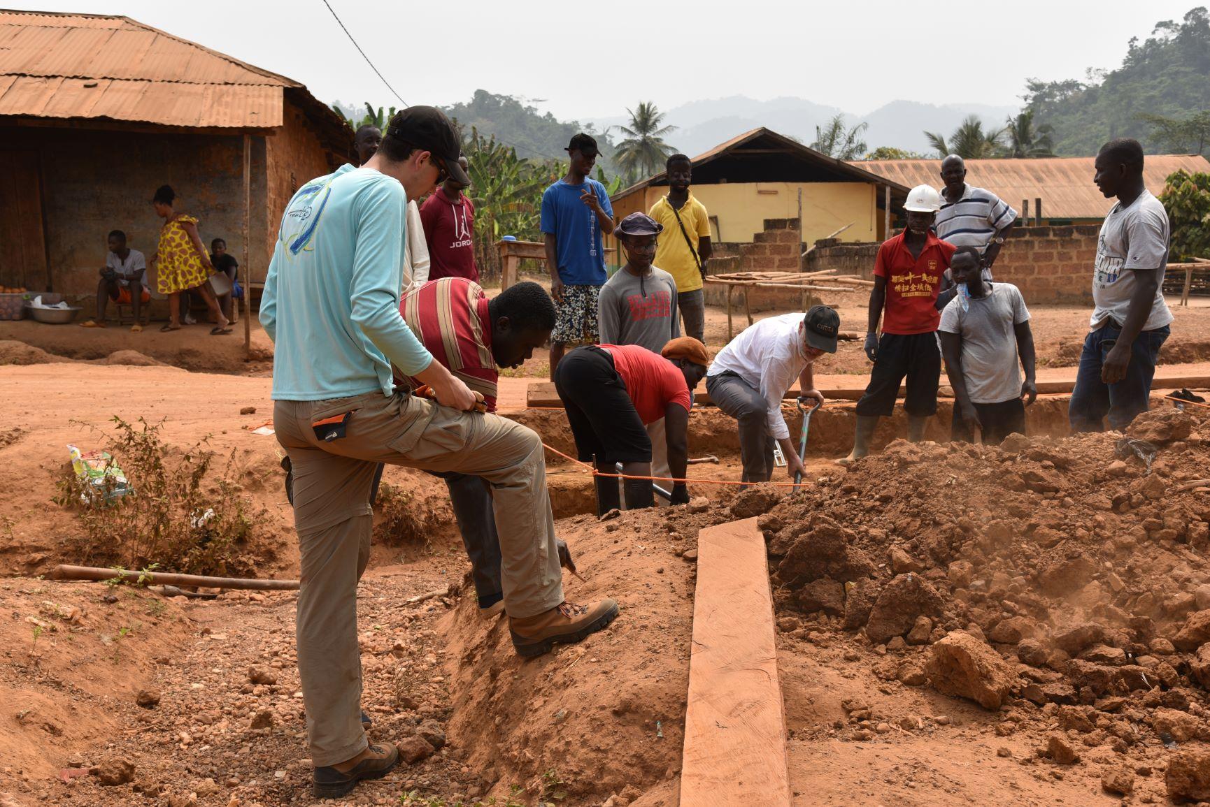 WPI Students in Ghana