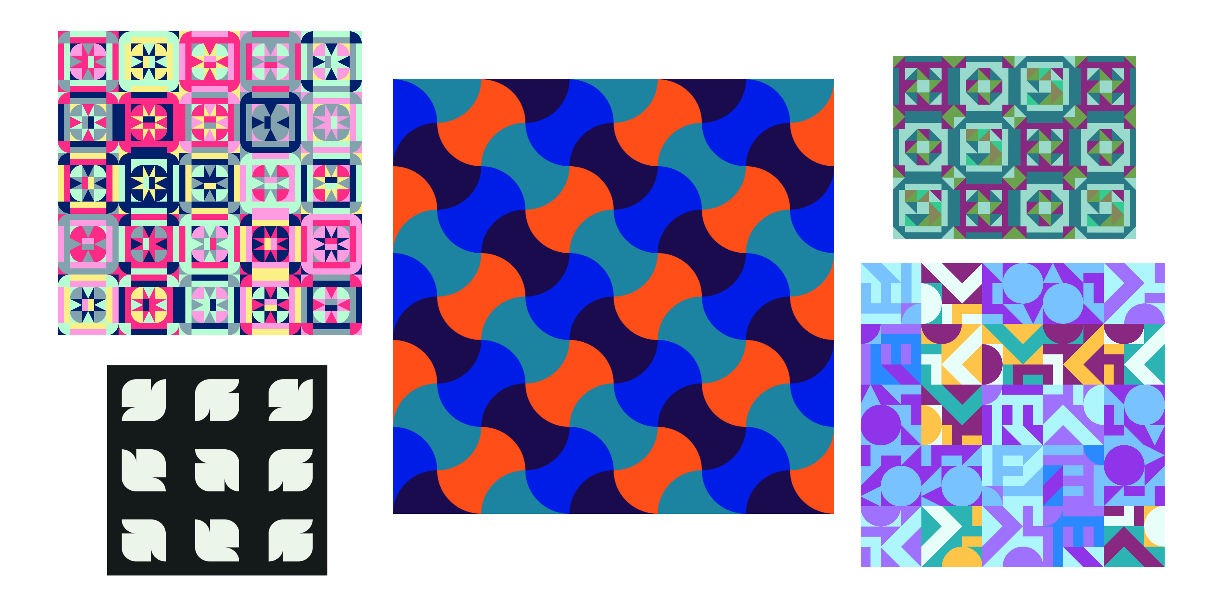 Generated quilt patterns from the Code Crafters project.