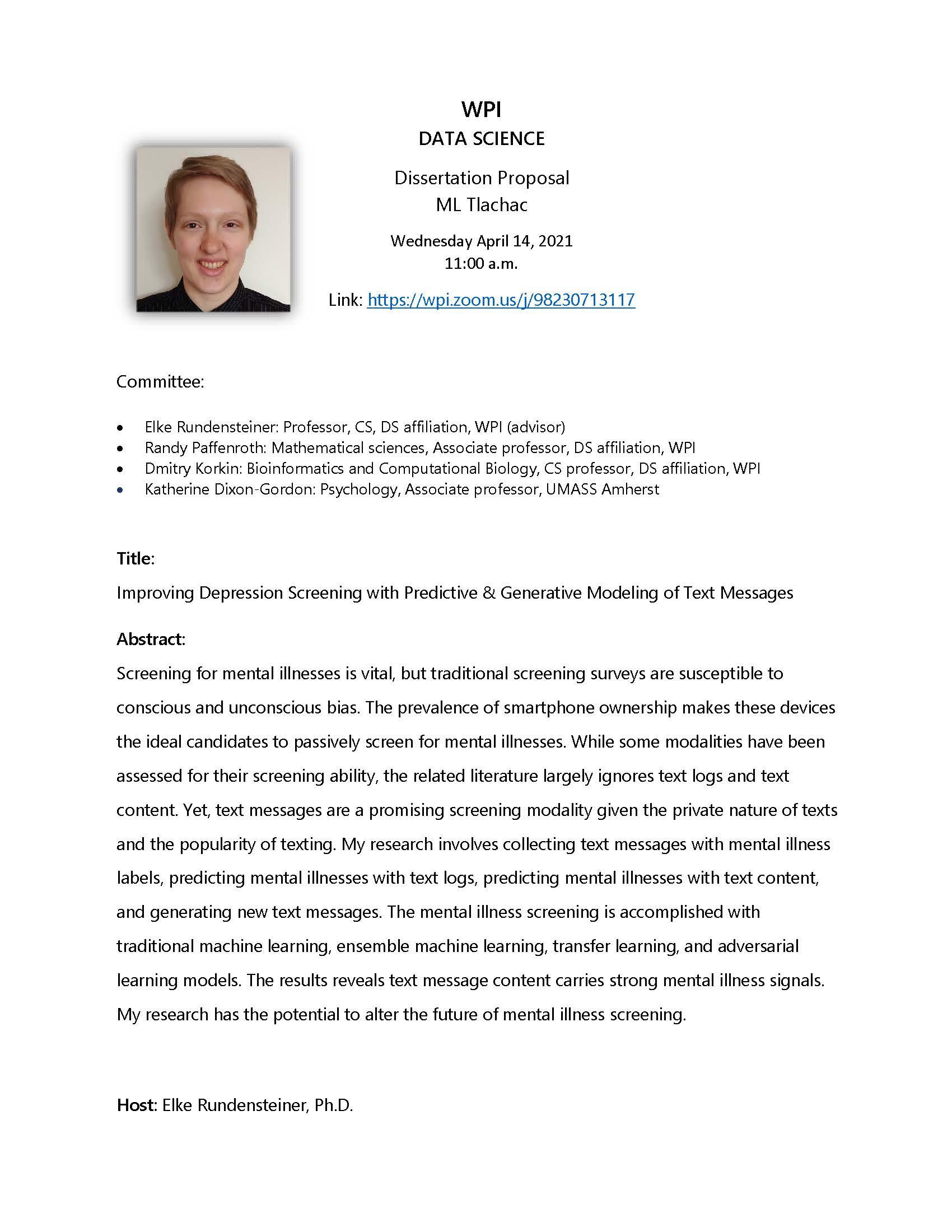 Dissertation Proposal ML Tlachac alt