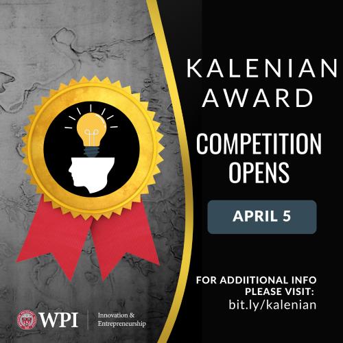 Image of the Kalenian Award 2021 Flyer