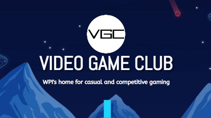 WPI's Video Game Club Logo