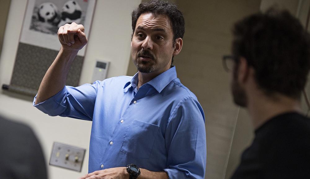 Alex Wyglinski, co-principal investigator alt