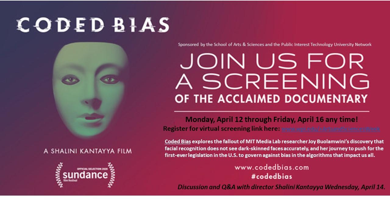 Coded bias movie screnning