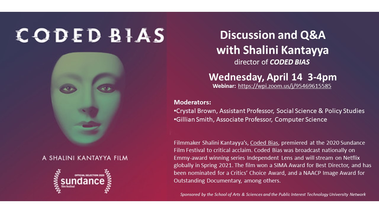 Discussion and Q&A with Shalini Kantayya