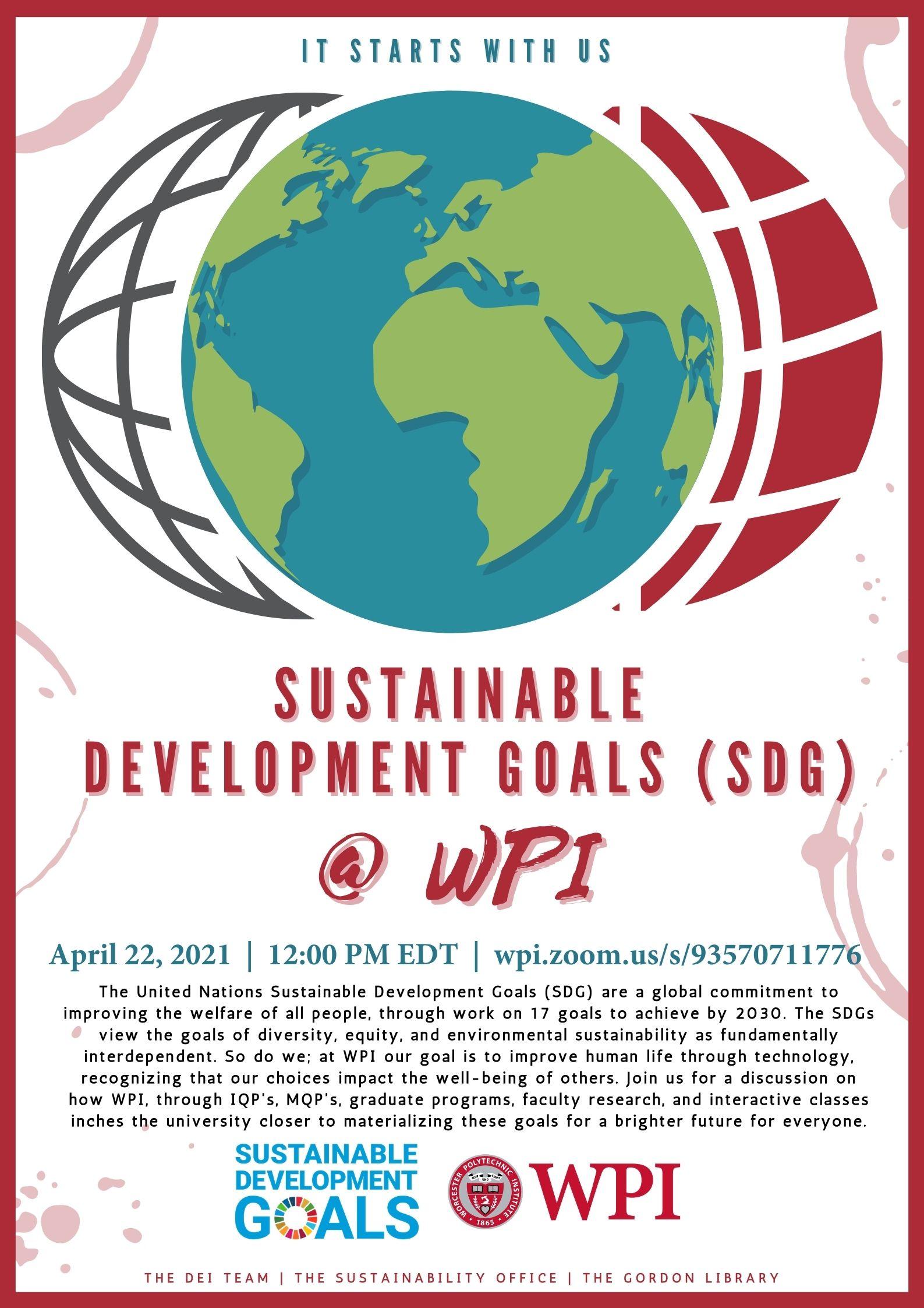 Poster for SDG Program