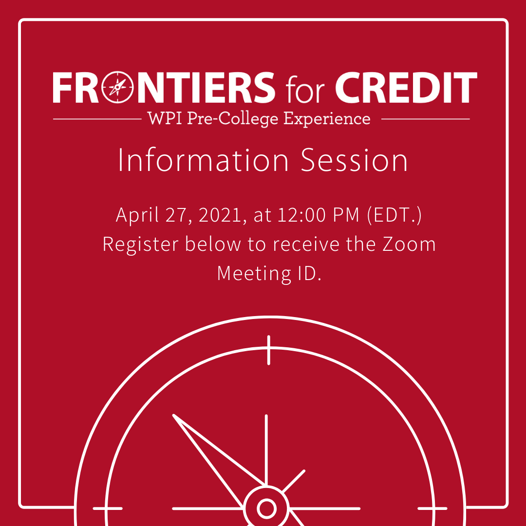 frontiers for credit info session graphic