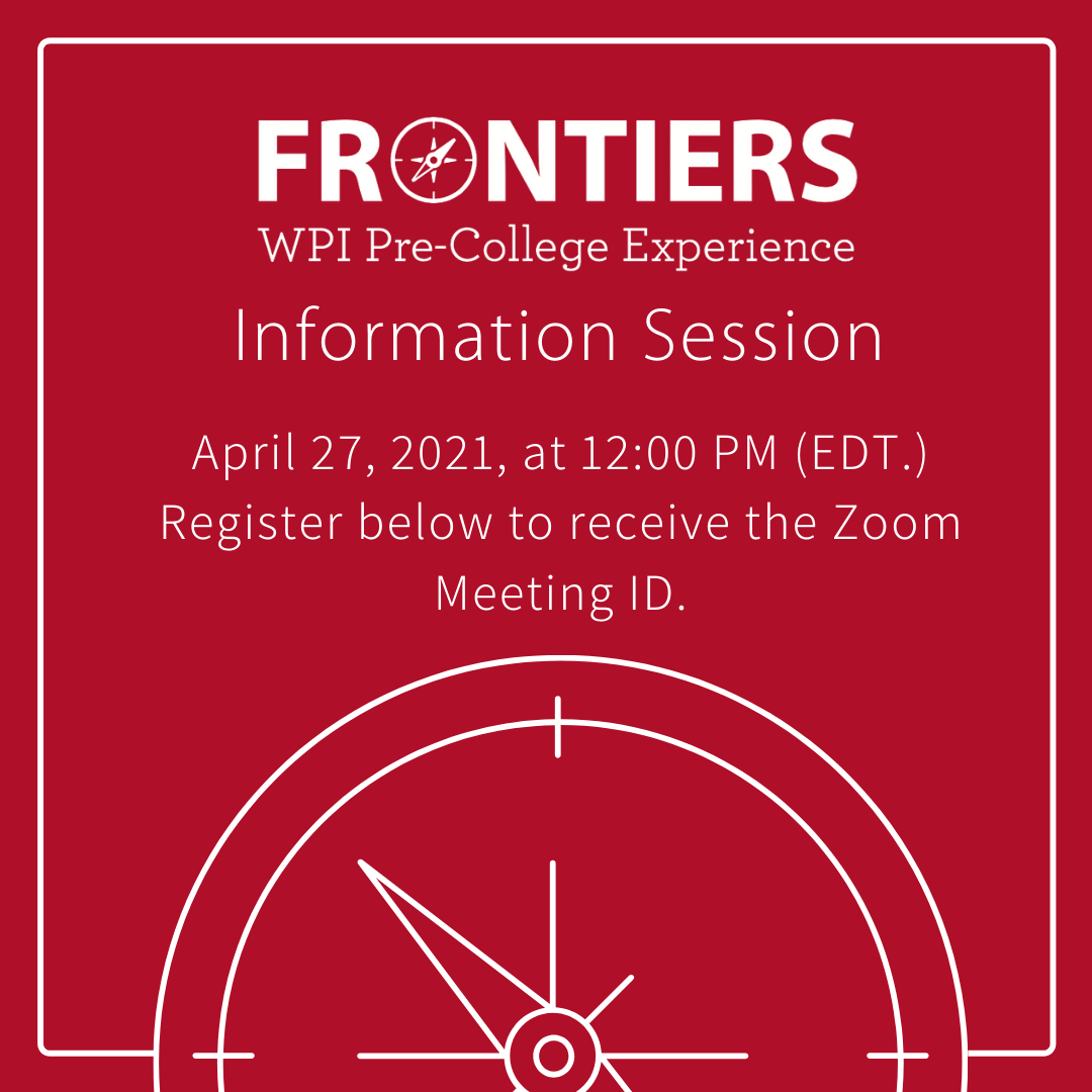frontiers info session logo