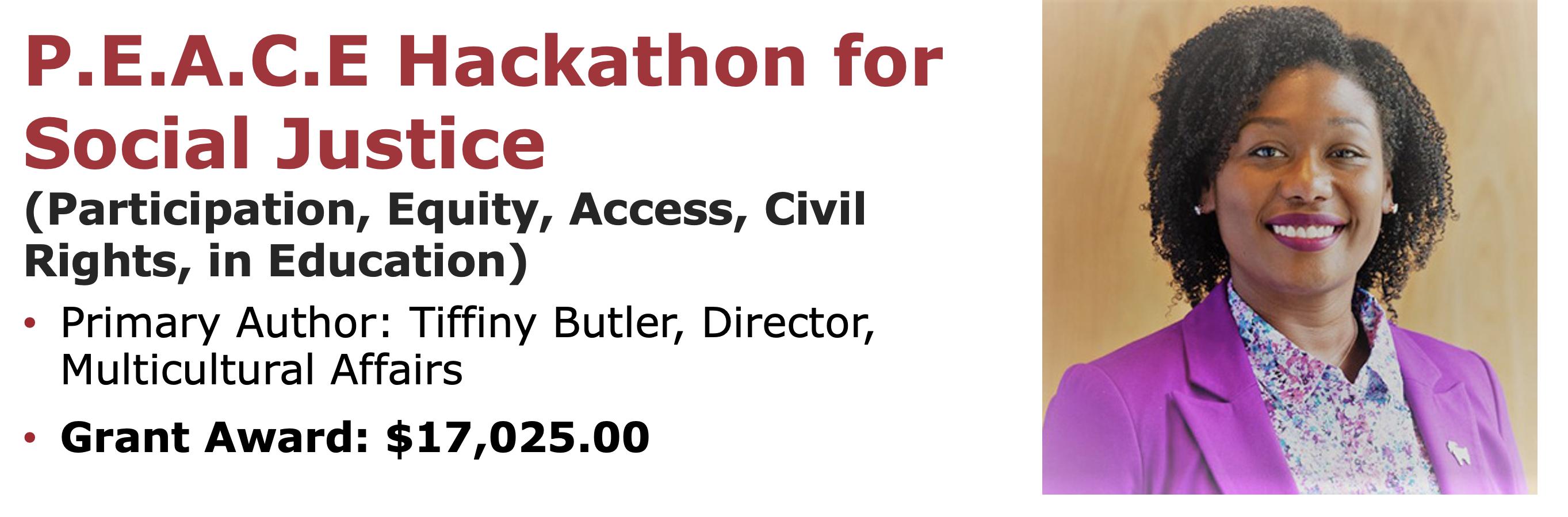 P.E.A.C.E Hackathon for Social Justice