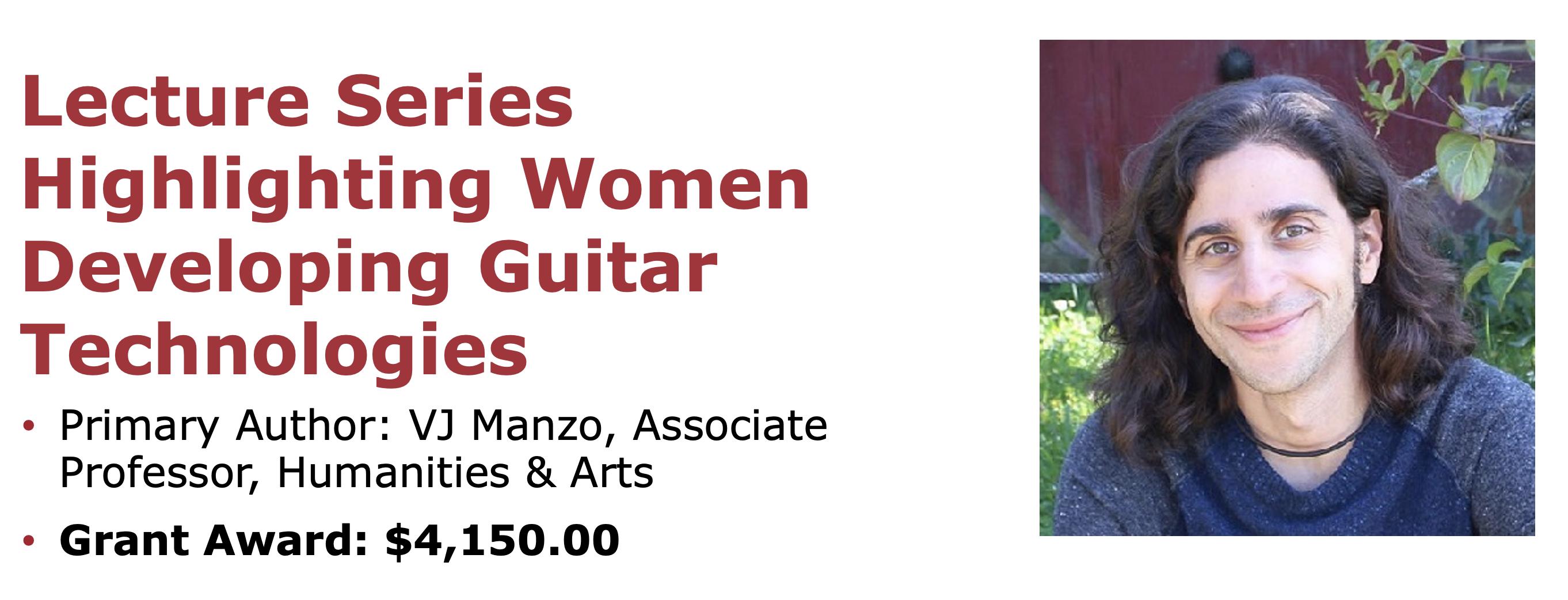 Lecture Series Highlighting Women Developing Guitar Technologies