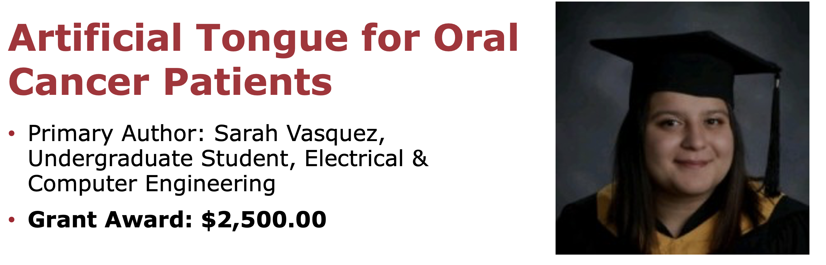 Artificial Tongue for Oral Cancer Patients