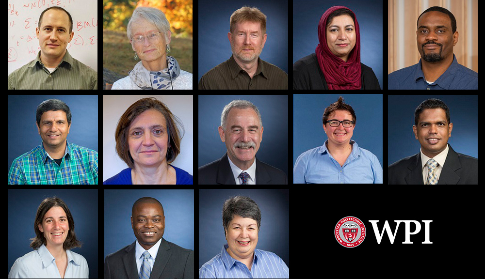 Composite image of teaching professors who have been promoted.