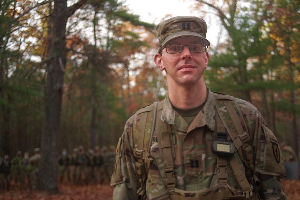 U.S. Army Capt. Stanley Kareta
