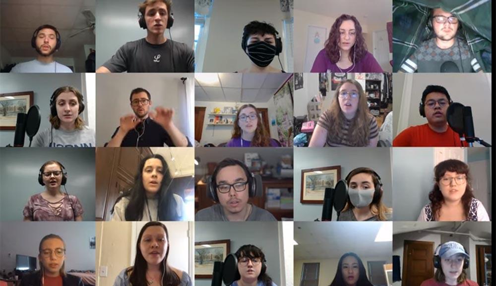 WPI virtual choir concert