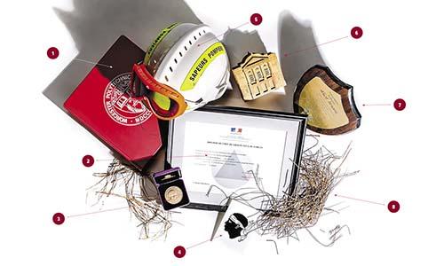 Albert Simeoni office items WPI