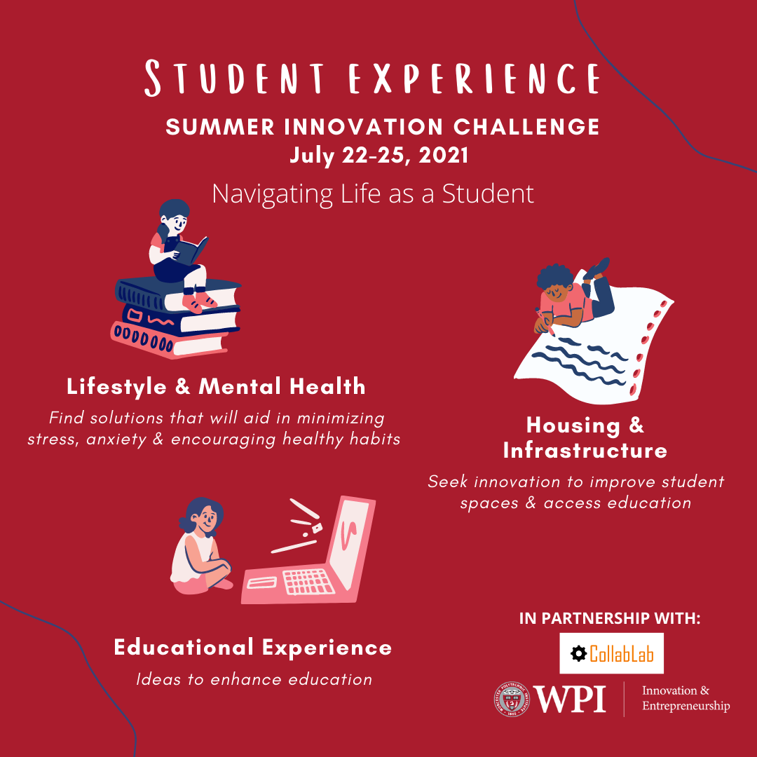 Image of the Student Life Experience Flyer