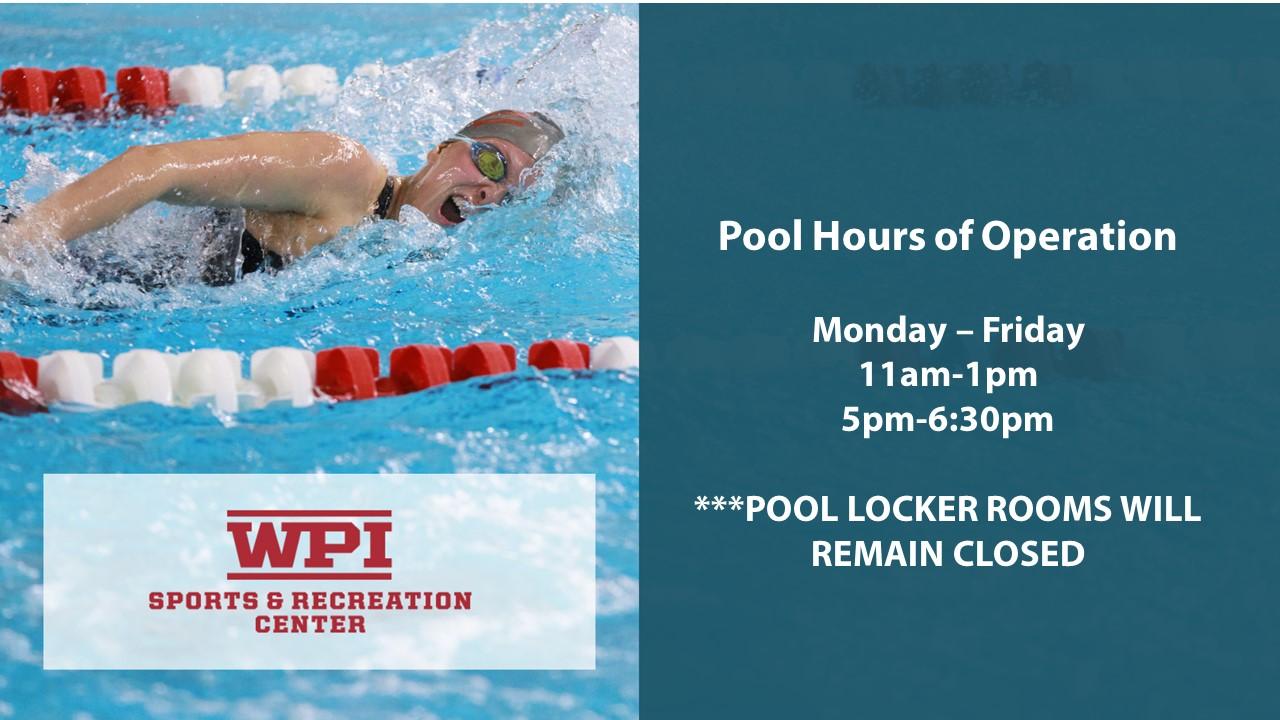 Pool Hours - Summer