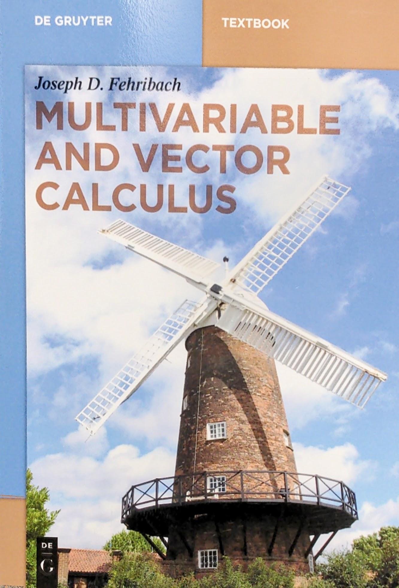 Joseph Fehribach Multivariable and Vector Calculus