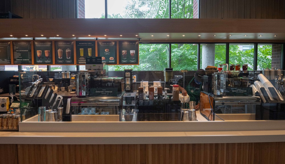 Starbucks has joined the WPI community in the Goat's Head
