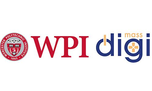 WPI logo beside MassDigi Logo