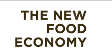 the new food economy logo