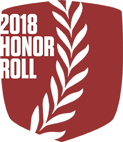 2018 Honor Roll Shield