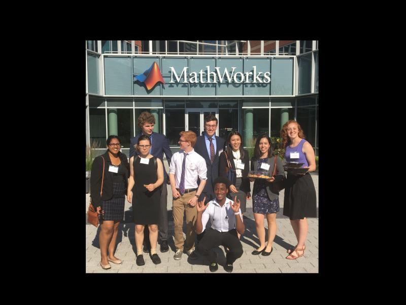 Data Science Students at MathWorks 2018
