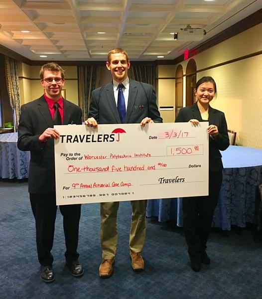 WPI Actuarial Team at Travelers Competition