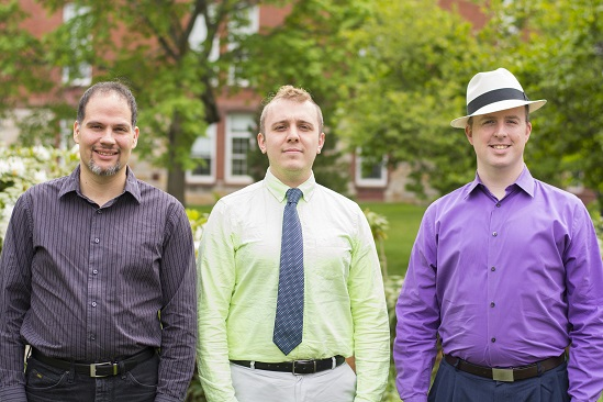 Chuck Anderson, Chris Chagnon and Thomas Collins are touring with the Boston Gay Men's Chorus, starting with a June 7 performance in Worcester.