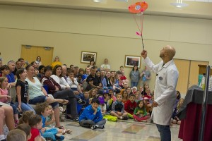 Mad Science presented two spectacular shows featuring impressive science experiments.