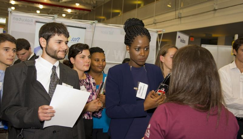 The Fall Career Fair Is Expected To Draw More Than 2500 Attendees