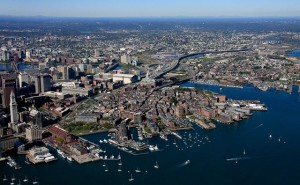 Boston and the city of Chelsea are vulnerable to damage from rising sea levels and storm surges.