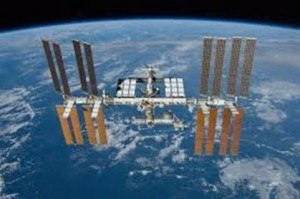 The International Space Station, where Yagoobi's experiments are slated to be conducted in 2020.
