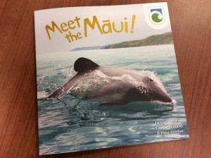 Meet the Māui is an educational book about the Māui dolphin that is distributed to school children.
