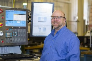 Toby Bergstrom is operations manager of manufacturing laboratories in WPI's Department of Mechanical Engineering.