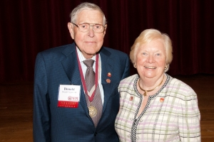 Donald and Ruth Taylor at Reunion in 2011.
