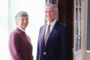 Ed and Virginia Cranch in 1985.