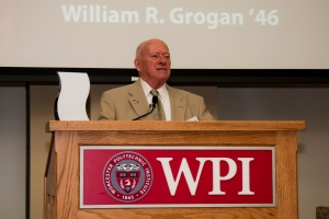Grogan looks back on his career after receiving the Alumni Association's Goat's Head Award in 2012.