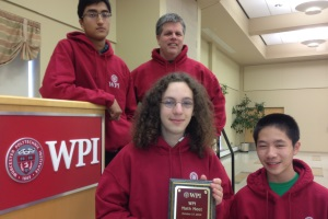 The Massachusetts Academy of Math and Science placed first in last year's math meet.