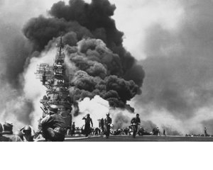 By making it possible to contain fires on warships, Freeman's Waterfog nozzle saved thousands of lives during World War II, making him a hometown hero.