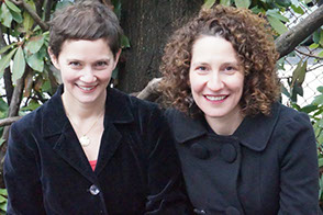 Co-authors Caroline Bicks and Michelle Ephraim