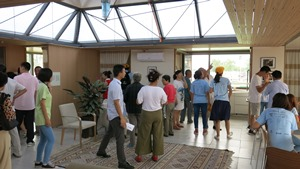 The public was invited to tour the houses competing in the Solar Decathlon 2013