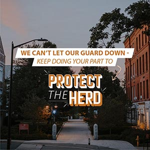 WPI Protect the Herd graphic