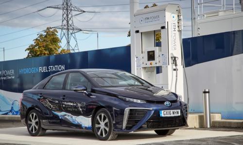 Toyota Mirai fuel-cell vehicle alt