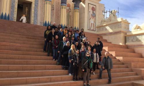 WPI students in Morocco