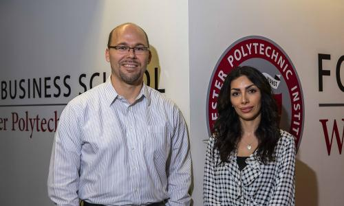Foisie Business School Associate Professor Andrew Trapp and PhD student Narges Ahani are working on an NSF-funded grant to develop software to aid in refugee placement alt