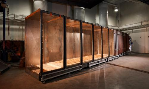 Unique Wind Tunnel Opens a New Window on Wildfires