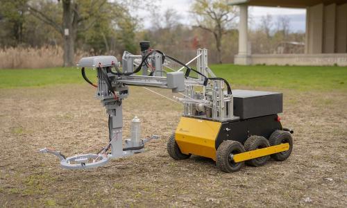 Land mine robot