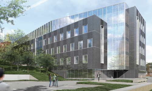 New academic and research building