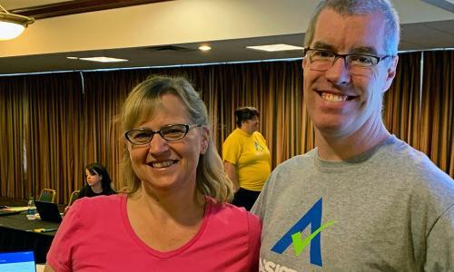 ASSISTments creators Cristina and Neil Heffernan alt